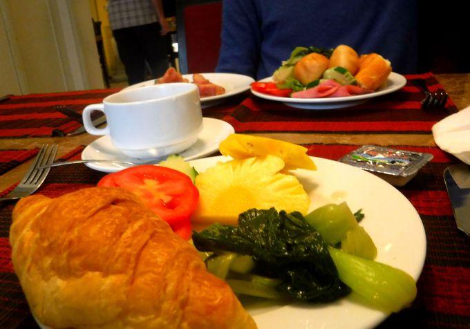 嬉しい選べる朝食で、元気な1日を始めよう!