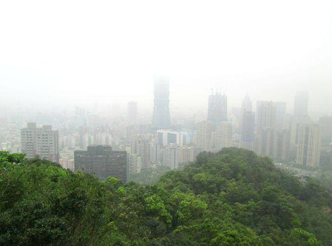 台北の景色を一望!象山で気軽にプチハイキング!