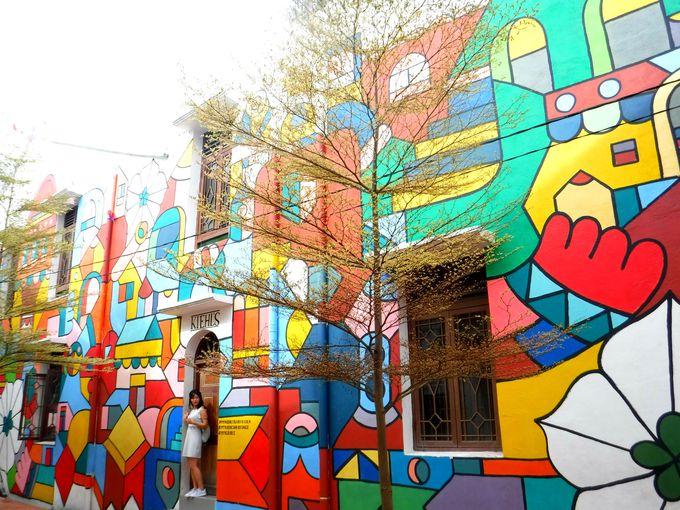 カメラ必携!マレーシア・マラッカはアートの街!