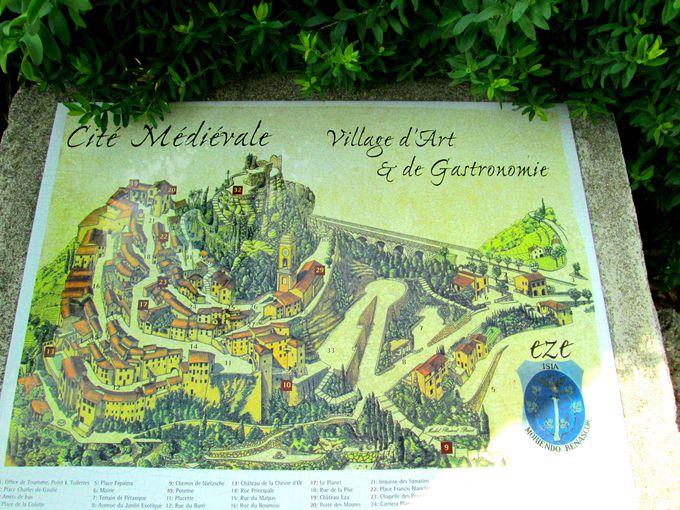 フランス南東部の鷲の巣村「エズ村」は芸術とグルメの街!