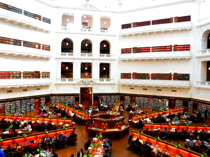 1.ビクトリア州立図書館/オーストラリア・メルボルン