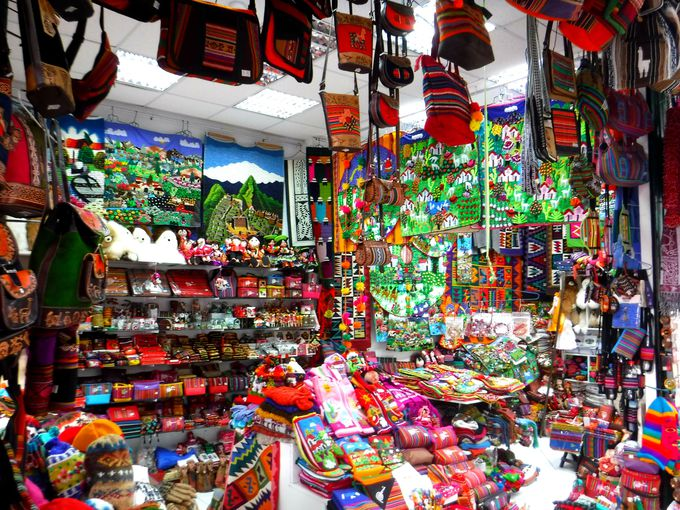 夕方:名物「インディアン・マーケット」で可愛いペルー土産を!