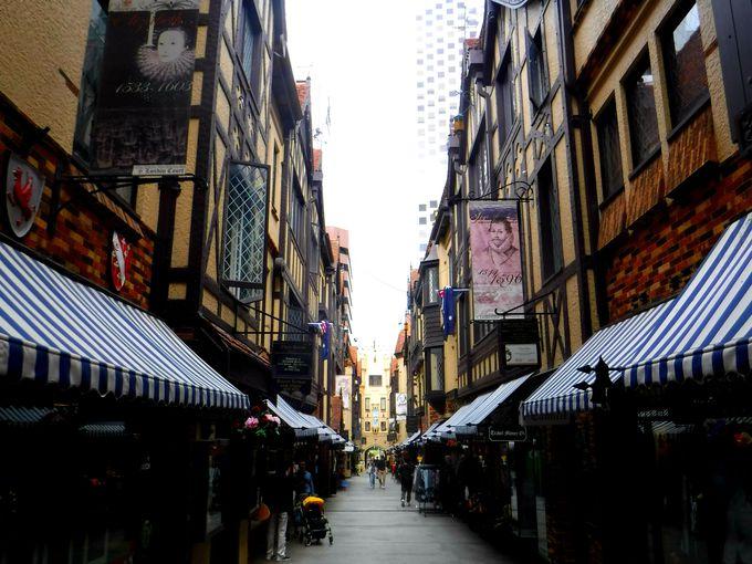 パースでショッピング。「ヘイストリートモール」エリアを観光