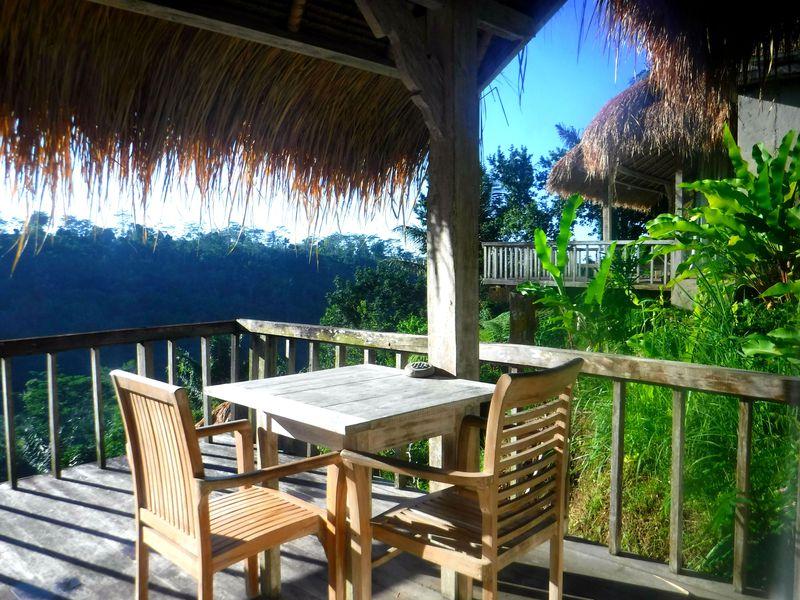 バリ島ウブドの森でバンガローステイ!ヴィラ「プリ・セバツ・リゾート」