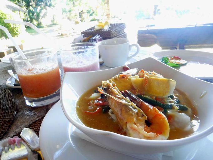 バリ島ウブドのプチ高級ヴィラで贅沢朝ご飯!