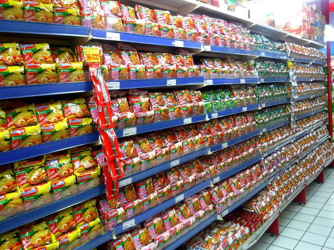 バリ島のローカルスーパーなら「ラーマーヤナ」