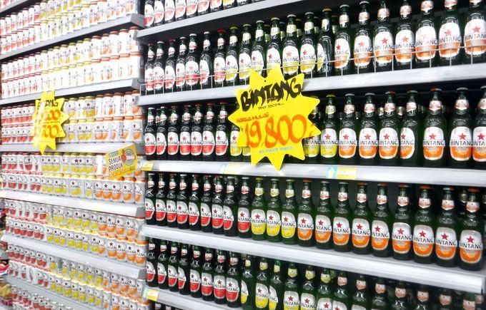 観光客にも大人気のバリのスーパー「ハイパーマート」