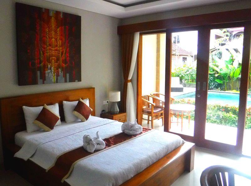 1日4部屋限定!バリ島ウブド「デウィプトリハウス」でプチリゾート