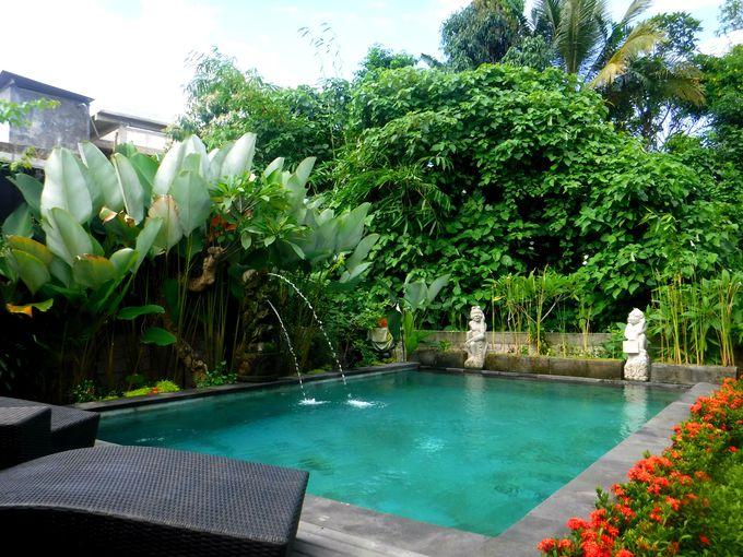 バリ島ウブドの隠れリゾートホテル「デウィプトリハウス」