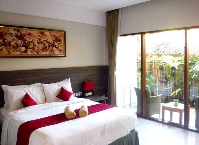 洗練されたサヌールのホテル「プリ・ケサリ・ゲストハウス」