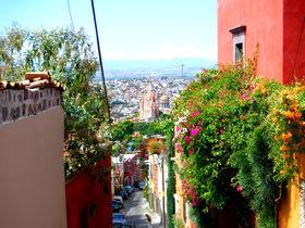 メキシコ「サンミゲルデアジェンデ」はカラフルなコロニアルな街