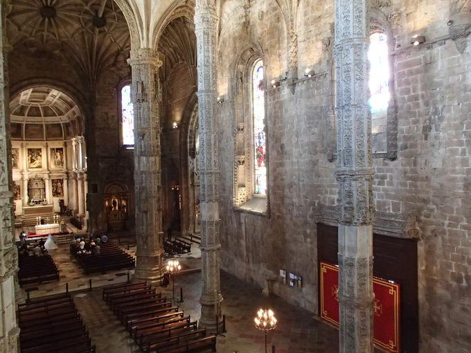 修道院隣接の「サンタ・マリア・デ・ベレン教会」