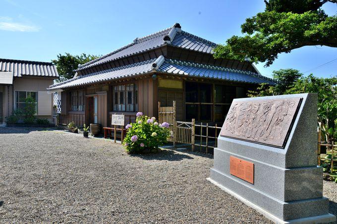 日本で初めて国の重要文化財に指定された西洋画「海の幸」が描かれた小谷家住宅