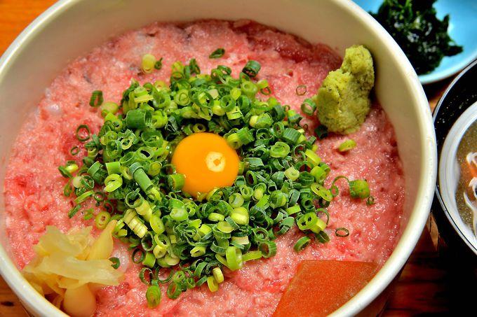 創業60年の老舗「咲乃家」の究極ねぎとろ丼は味もコスパも最高!
