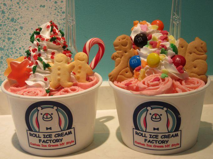 上がる歓声!「ロールアイスクリームファクトリー」 道頓堀