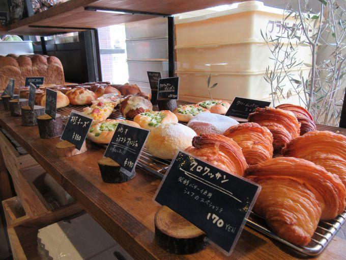 ハード系パンが美味しいストリート