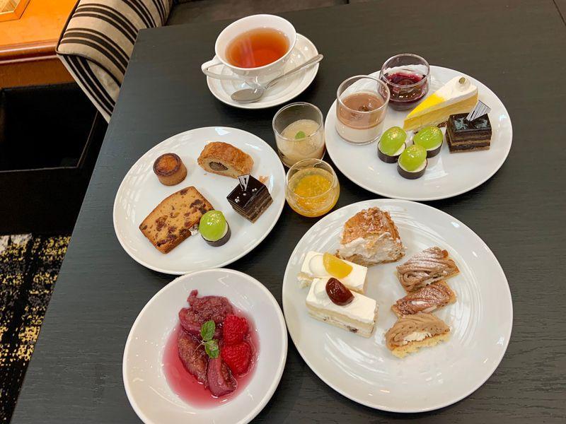 「栗とぶどう」秋の味覚狩りはホテルニューオータニ大阪ビュッフェで