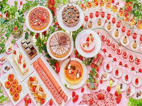 旬を楽しむ!苺の食べ比べも!苺と伝統スイーツ「帝国ホテル 大阪」
