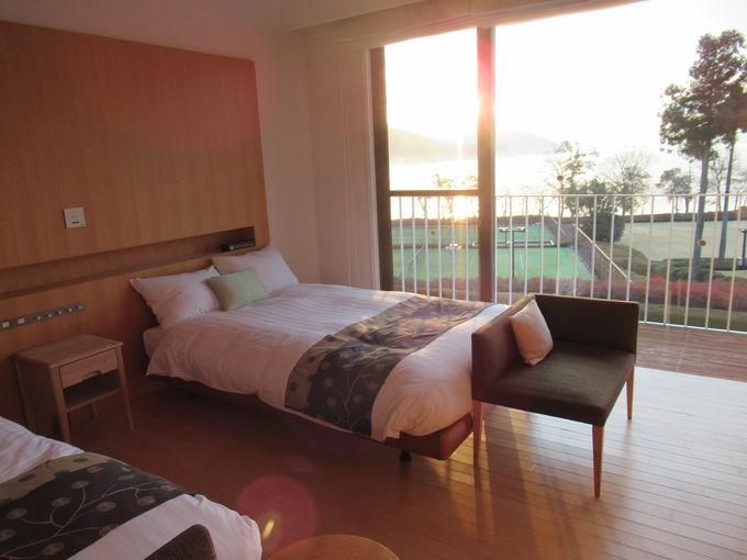 国定公園内の4万坪の敷地に15室だけの贅沢なホテル