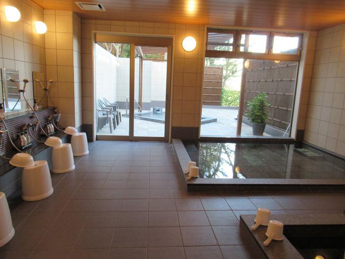 露天風呂&館内から見える絶景