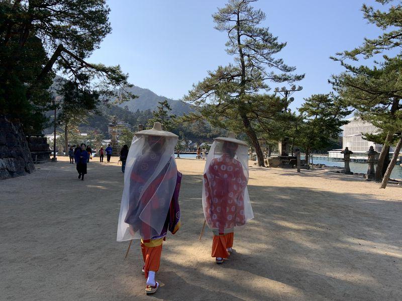 珍しい壺装束体験を宮島で!「紅葉の賀」で女子旅を楽しむ