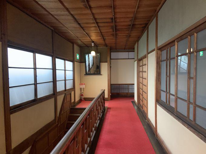 明治37年開業「松栄館」別館が息づく2階の空間