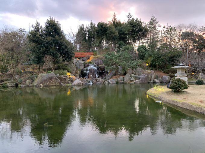 日本庭園や温かい気配り
