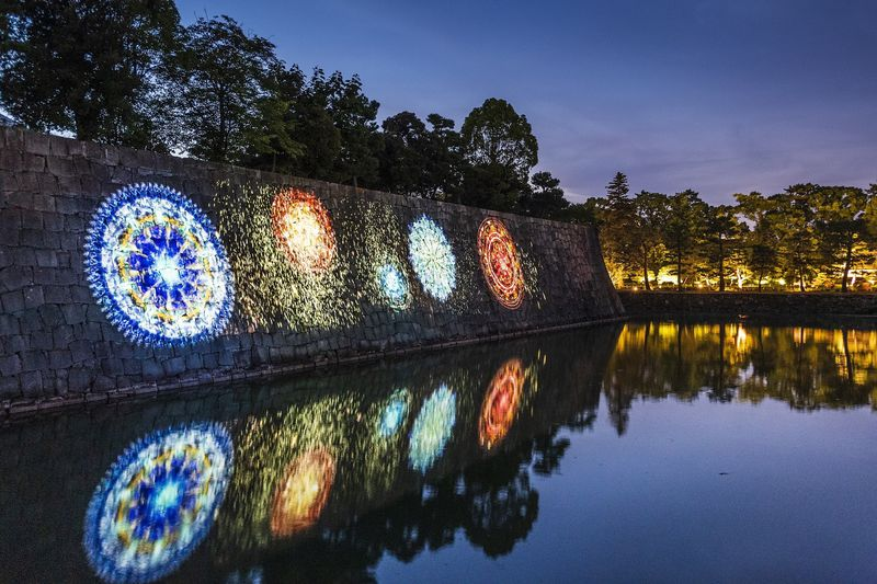 夏の夜を楽しむ「二条城×ネイキッド夏季特別ライトアップ2020」