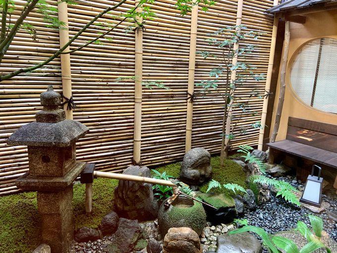 待合から溢れる京町家の風情