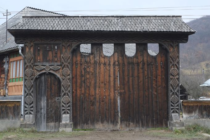 マラムレシュ地方の伝統家屋