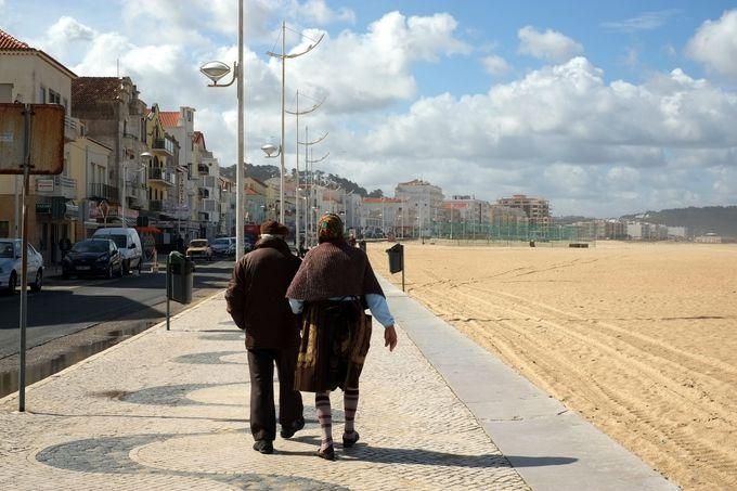 ポルトガルらしさが残る小さなリゾート