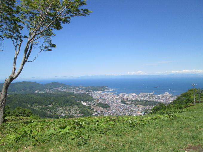 天狗山で最初に出会う絶景