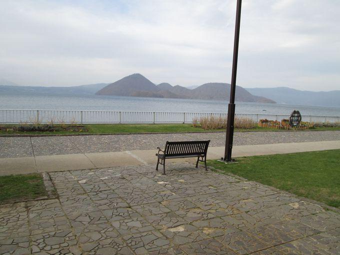 『洞龍の湯』から見る景色は洞爺湖八景!