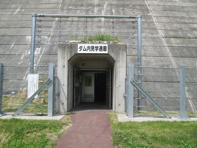ダムの中のトンネル「ダム内見学通路」に入ってみよう!