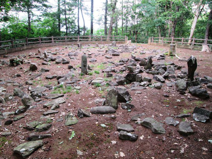 古代人が残した石造遺構!ビュースポットとしても魅力的