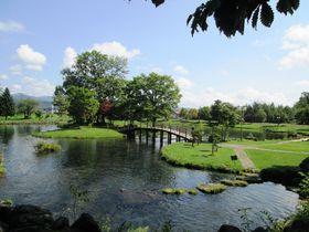 滾々と湧き出る名水が作る北海道京極町「吹き出し公園」の美景
