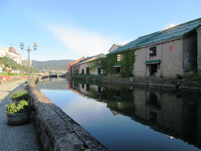 小樽運河に残るかつての市民生活の証「ふれあいの泉」