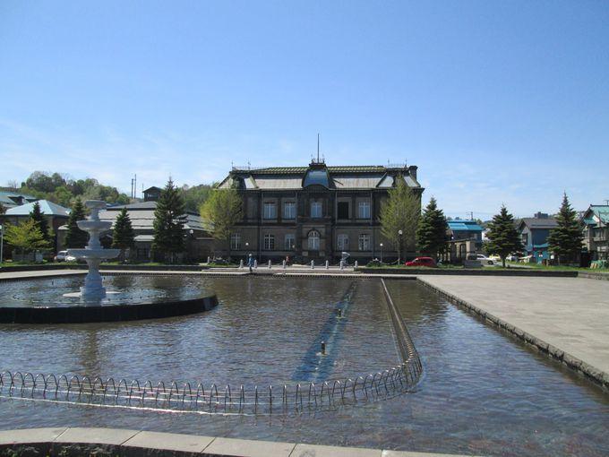 小樽の歴史巡りなら「運河公園」