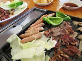 ジンギスカン食べて、道産子ばん馬に乗って!「松の実」と「アースドリーム角山農場」江別市