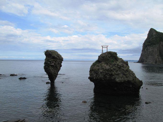 1.えびす岩・大黒岩/北海道
