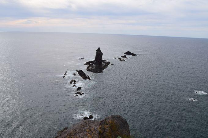 外せない絶景スポット「神威岬」