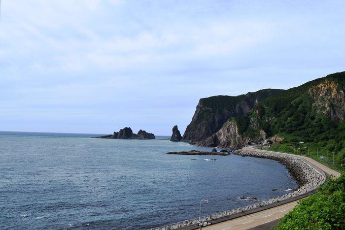 積丹半島の西側にある小さな村「神恵内村」