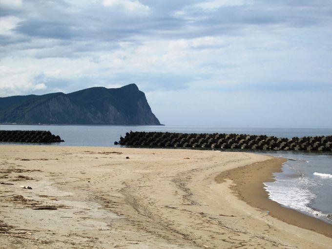 積丹半島の東側。雷電国道(国道229号線)の絶景