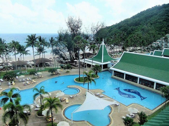 ビーチ、プール、客室の配置バツグン!完璧なビーチリゾート
