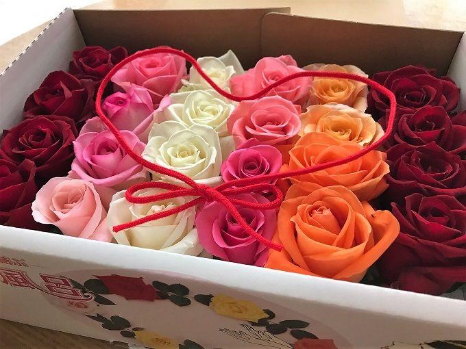 上質な生バラのバラ風呂も注文できる