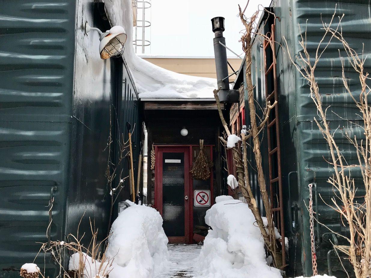 雪景色とEspressoの美しきハーモニー