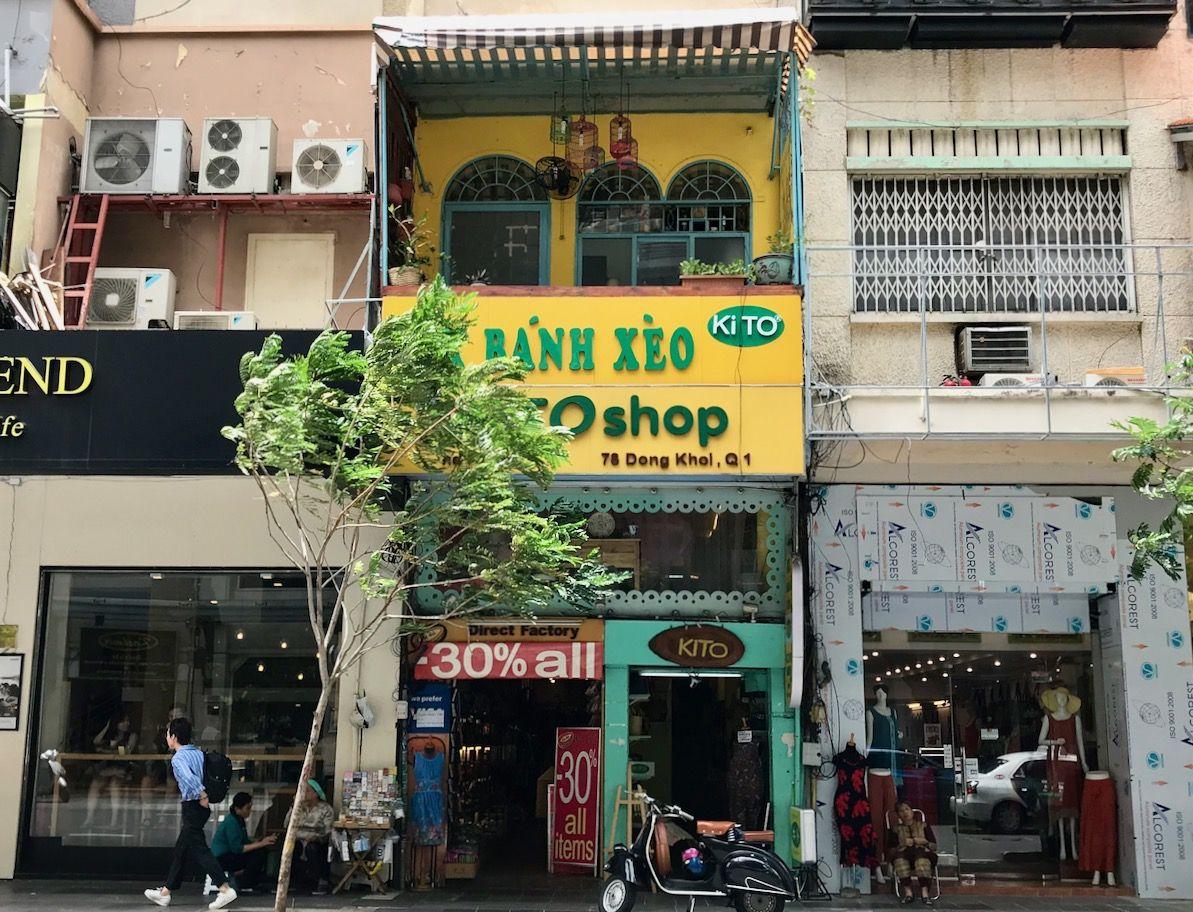 ベトナム名物料理バインセオもいただけます