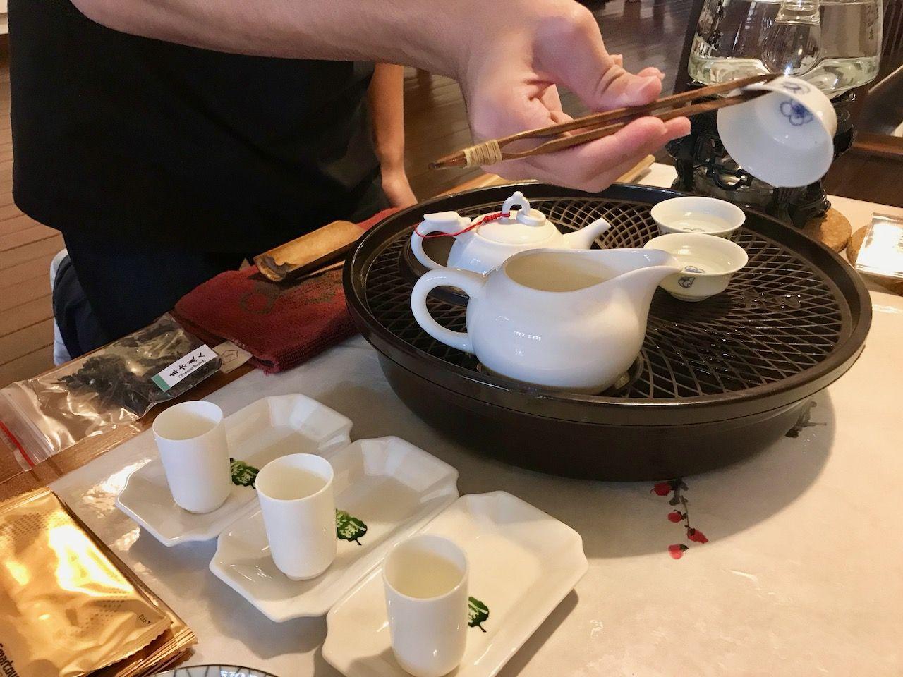 暑いシンガポールで涼しく中国茶体験「ティーチャプター」