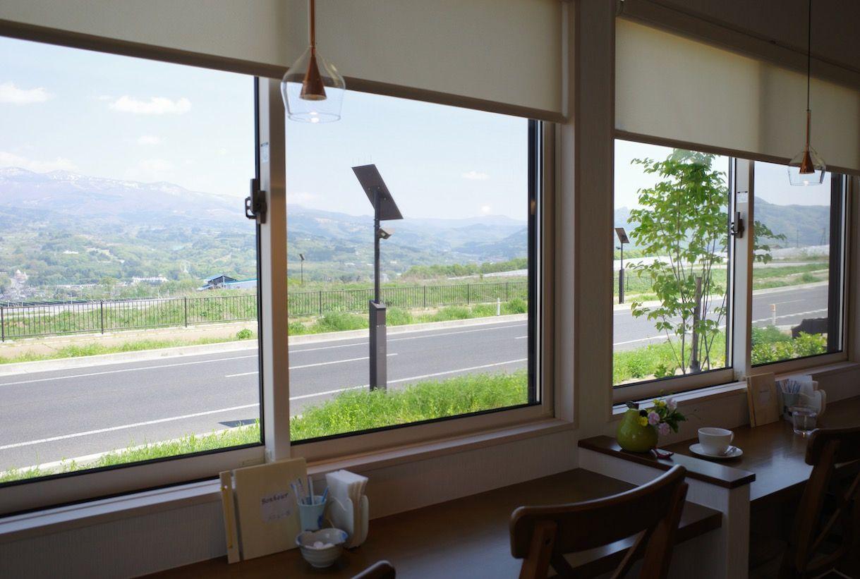 蔵王連山の景色が一番のご馳走