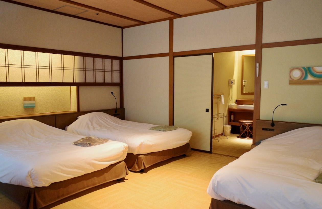 広々快適 心も体も解き放たれる寛ぎの客室